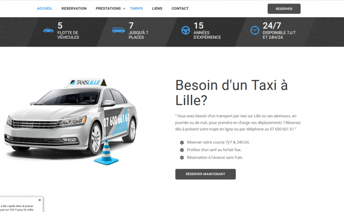 taxilille